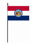 Missouri Hand Flag - Small.